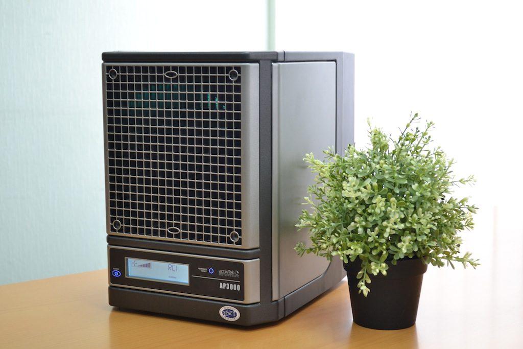 Desinfisering, smittevern og luftrenseren AP3000