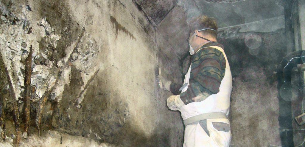 Utbedring av fukt og vannintrengning i kjeller
